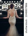 young slender girl model in a... | Shutterstock . vector #1048807886
