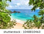 fernando de noronha  brazil.... | Shutterstock . vector #1048810463
