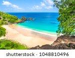 fernando de noronha  brazil.... | Shutterstock . vector #1048810496