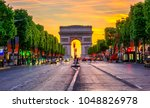 Champselysees Arc De Triomphe Night - Fine Art prints