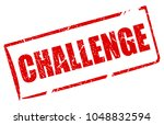 challenge rectangle vector...   Shutterstock .eps vector #1048832594