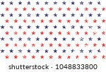 4th of july stars grunge... | Shutterstock .eps vector #1048833800
