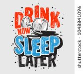 typography motivational slogan... | Shutterstock .eps vector #1048841096