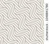 seamless wavy pattern....   Shutterstock .eps vector #1048841780