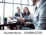 business people shaking hands ... | Shutterstock . vector #1048842230
