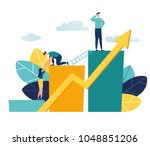 vector illustration a group of... | Shutterstock .eps vector #1048851206
