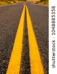 bright yellow lines  indicating ... | Shutterstock . vector #1048885358