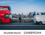 London Skyline Background With...