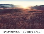beautiful sunset  italy   Shutterstock . vector #1048914713