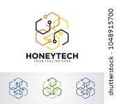 Honey Tech Logo Template Desig...