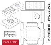 package for bakery.vector... | Shutterstock .eps vector #1048936916