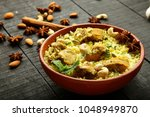 homemade indian traditional... | Shutterstock . vector #1048949870