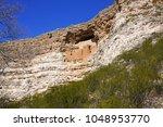 montezuma castle national... | Shutterstock . vector #1048953770