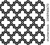 seamless pattern with ogee...