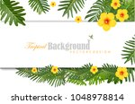 natural background with green... | Shutterstock .eps vector #1048978814