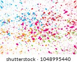 abstract vector colorful... | Shutterstock .eps vector #1048995440