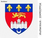 Emblem Of Bordeaux. City Of...