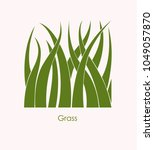 grass label abstract design.... | Shutterstock .eps vector #1049057870