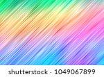 light multicolor  rainbow... | Shutterstock .eps vector #1049067899