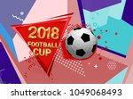 football 2018 world... | Shutterstock .eps vector #1049068493