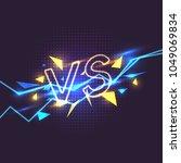 bright poster symbols of... | Shutterstock .eps vector #1049069834