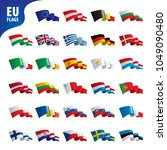 flags of the european union | Shutterstock .eps vector #1049090480
