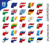 flags of the european union | Shutterstock .eps vector #1049090510