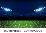 american football arena field... | Shutterstock .eps vector #1049093006
