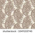 seamless traditional indian... | Shutterstock .eps vector #1049103740