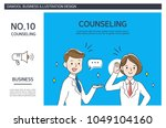 business situation illustration | Shutterstock .eps vector #1049104160