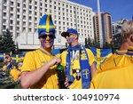 Kiev  Ukraine   June 11  Fans...