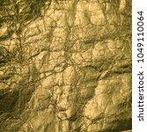 gold cracked foil  luxury... | Shutterstock . vector #1049110064