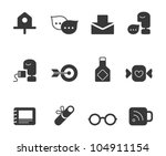 web icons   universal | Shutterstock .eps vector #104911154