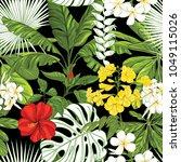 seamless pattern  background... | Shutterstock .eps vector #1049115026