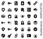 flat vector icon set  ... | Shutterstock .eps vector #1049115710