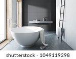 interior of a modern bathroom... | Shutterstock . vector #1049119298