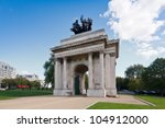 Постер, плакат: Wellington Arch aka Constitution