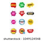 sale banners. best offers ... | Shutterstock .eps vector #1049124548