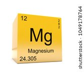 magnesium chemical element...   Shutterstock . vector #1049178764