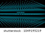 abstract technology and... | Shutterstock .eps vector #1049195219