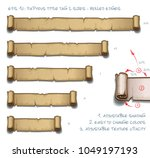 vector illustration of a...   Shutterstock .eps vector #1049197193