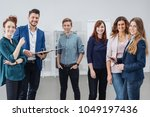a young  professional male... | Shutterstock . vector #1049197436