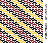 abstract zigzag arrows vector... | Shutterstock .eps vector #1049205629