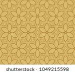 seamless modern vector... | Shutterstock .eps vector #1049215598