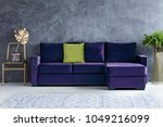 gold leaf on chair next to...   Shutterstock . vector #1049216099