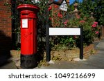 Traditional British Red Post...