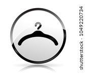 illustration of hanger icon on... | Shutterstock .eps vector #1049220734