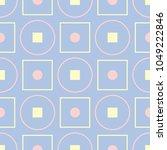 geometric seamless pattern.... | Shutterstock .eps vector #1049222846