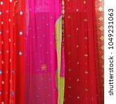 indian traditional sari... | Shutterstock . vector #1049231063