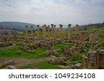 church of the propylaea  jerash ... | Shutterstock . vector #1049234108